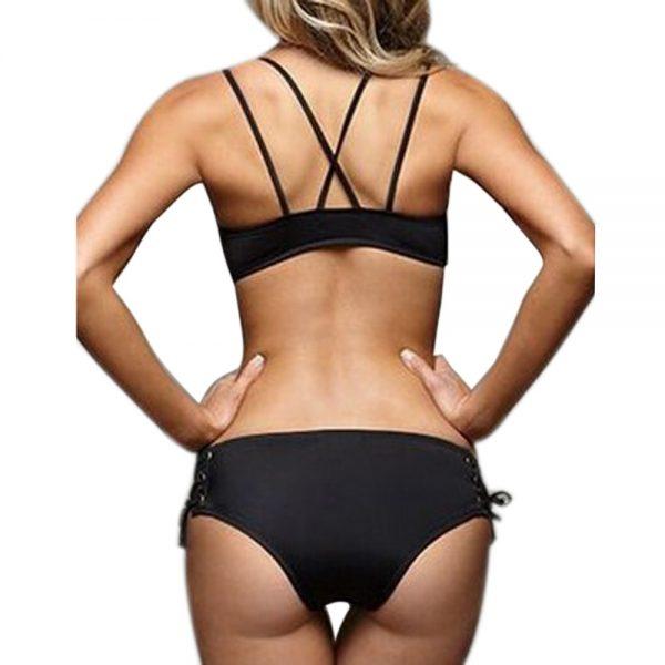 Halter Bandage Bikini Back