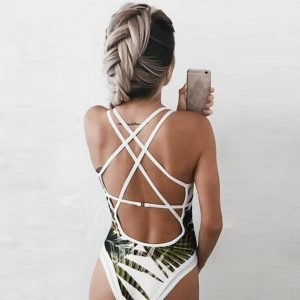 Leafy One Piece Back
