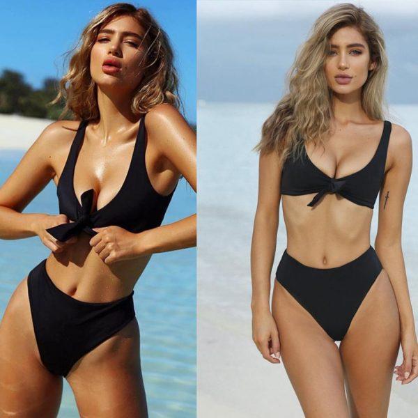Black Brazilian Bandage Bikini
