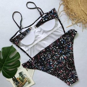 Floral Bandage One Piece Back