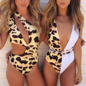 Leopard Print One Piece